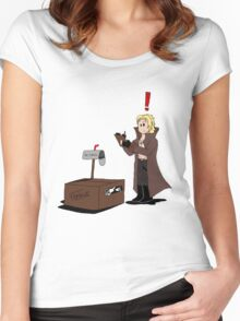 Snake in the Box Women's Fitted Scoop T-Shirt