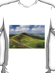 Rushup Edge, viewed from Mam Tor T-Shirt