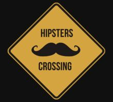 Hipsters crossing! Caution!!! T-Shirt