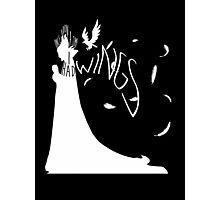 My Wings (Dark) Photographic Print
