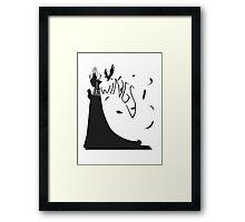 My Wings (Light) Framed Print
