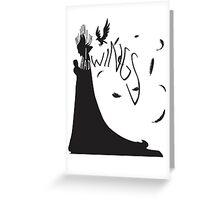 My Wings (Light) Greeting Card