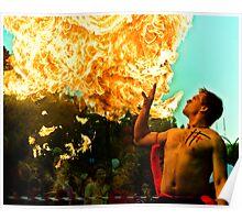 Fire Blast Poster
