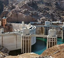 Hoover Dam - Arizona & Nevada by DJ Florek