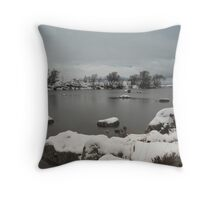 Rannoch Moor in Winter. Throw Pillow