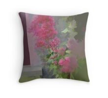abstract of Valerian Throw Pillow