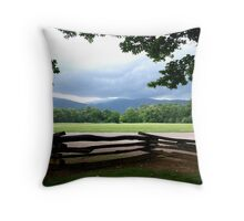 COUNTRY SEEN Throw Pillow
