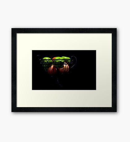 still life - fruit Framed Print