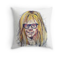 Garth Wayne's World Throw Pillow