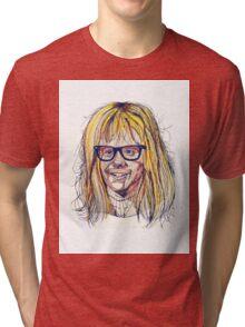 Garth Wayne's World Tri-blend T-Shirt