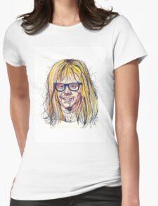 Garth Wayne's World Womens Fitted T-Shirt