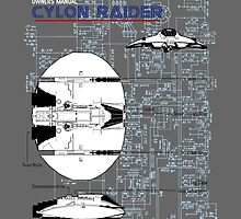 Owners Manual - Cylon Raider by simonbreeze