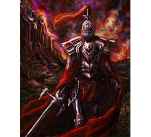 Knight in Red Photographic Print