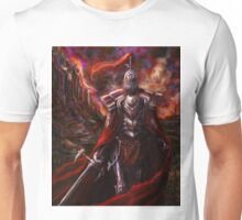 Knight in Red Unisex T-Shirt