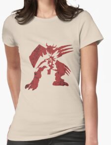 Peeper Breath Womens Fitted T-Shirt