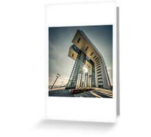 Crane House Cologne - wide angle Greeting Card