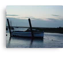Boat at Blakeney Canvas Print