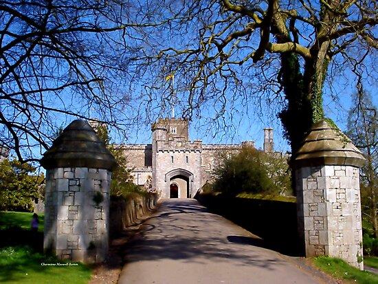 Entrance to Powderham Castle by Charmiene Maxwell-Batten