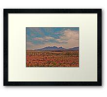 Outback Scene Framed Print