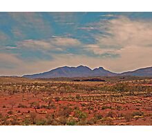 Outback Scene Photographic Print