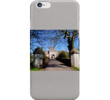 Entrance to Powderham Castle iPhone Case/Skin