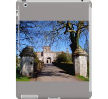 Entrance to Powderham Castle iPad Case/Skin