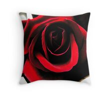 Love in a Flower Throw Pillow