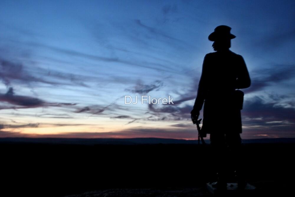 Little Round Top - Gettysburg by DJ Florek