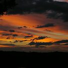 Sunset over Blayney, NSW by Alison Howson