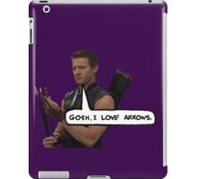 Renner Loves Arrows iPad Case/Skin
