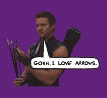 Renner Loves Arrows by samrey95
