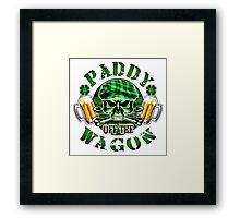 Irish Leprechaun Skull: Paddy off the Wagon 2 Framed Print
