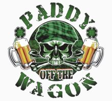 Irish Leprechaun Skull: Paddy off the Wagon 2 by sdesiata