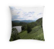Glen Affric Throw Pillow