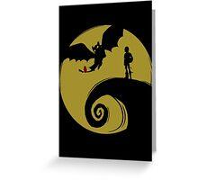 Dragon Nightmare Greeting Card