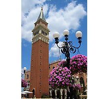 Italy at Epcot Photographic Print