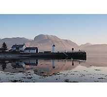 Ben Nevis from Corpach. Photographic Print