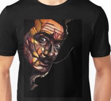 Salvador Dali Black Unisex T-Shirt