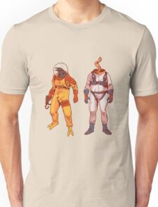 Earthworm Jim & Psycrow Unisex T-Shirt