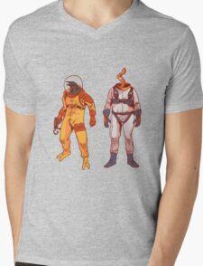 Earthworm Jim & Psycrow Mens V-Neck T-Shirt