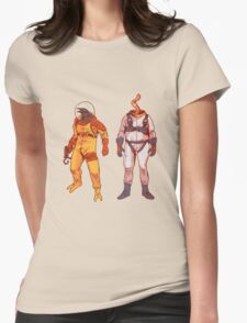 Earthworm Jim & Psycrow Womens Fitted T-Shirt