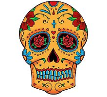 Skull Mexican Photographic Print