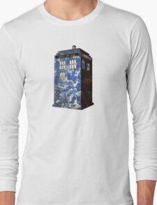 Dr Who Police Box T-Shirt Long Sleeve T-Shirt