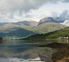 Ben Nevis and Loch Eil. by John Cameron