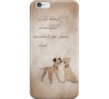 101 Dalmatians inspired valentine. iPhone Case/Skin