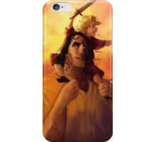 A Boy and His Hound iPhone Case/Skin