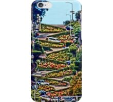Lombard Street - San Francisco iPhone Case/Skin