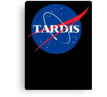 Dr Who Tardis T-Shirt Canvas Print