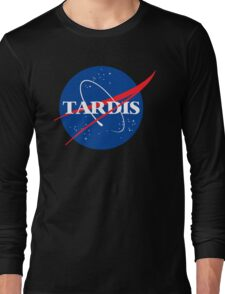 Dr Who Tardis T-Shirt Long Sleeve T-Shirt