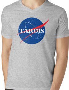 Dr Who Tardis T-Shirt Mens V-Neck T-Shirt